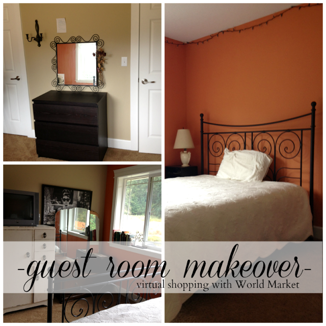 World Market Lately: Guest Room Makeover With World Market