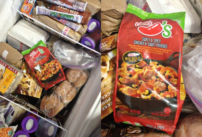 Chilis At Home Freezer Meal
