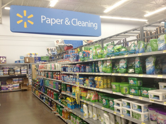 finish aisle at walmart