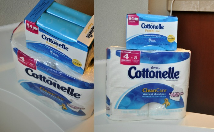 cottonelle collage