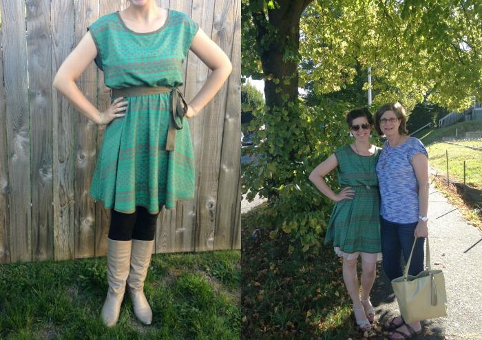 stitch fix green dress