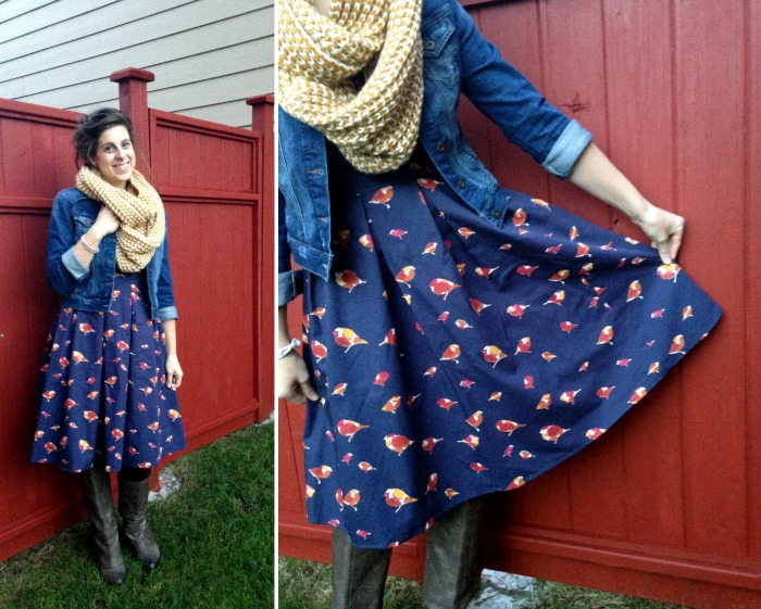 bird dress 2