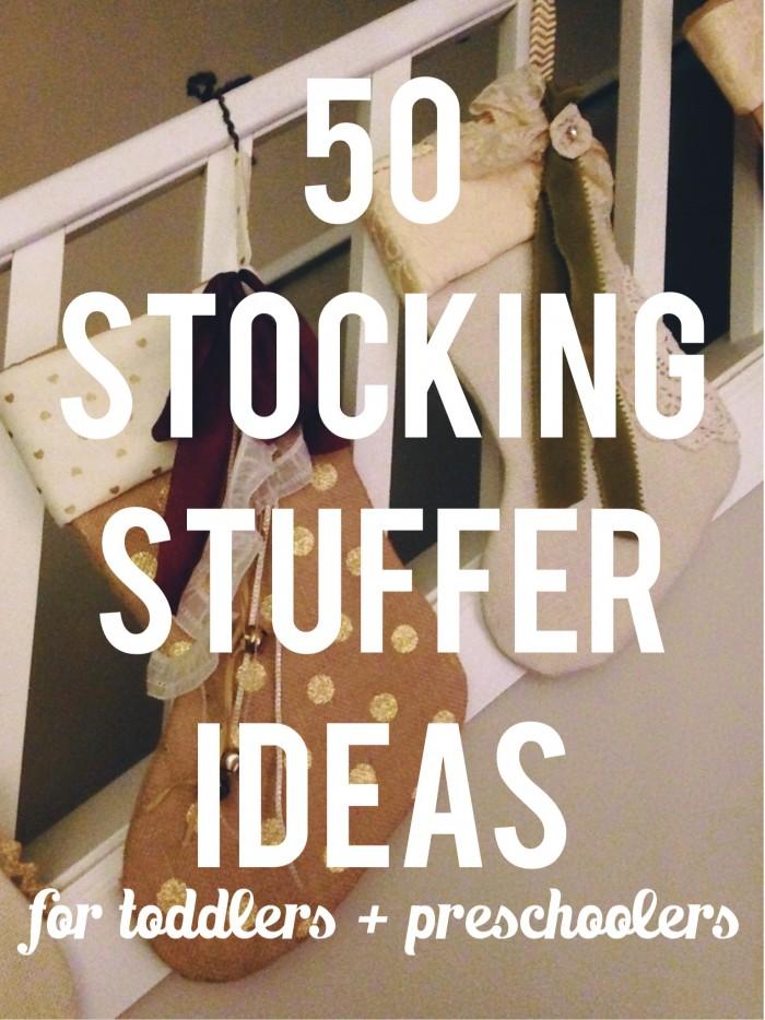 50 Stocking Stuffer Ideas