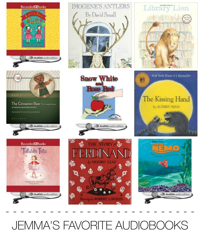 Jemmas Favorite Audiobooks