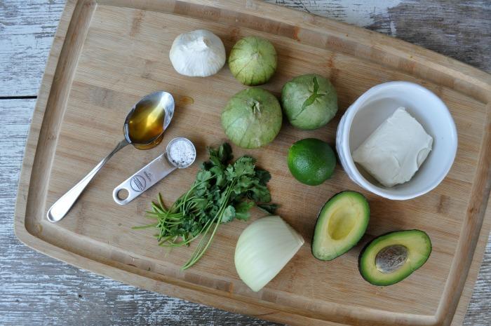 creamy verde salsa ingredients
