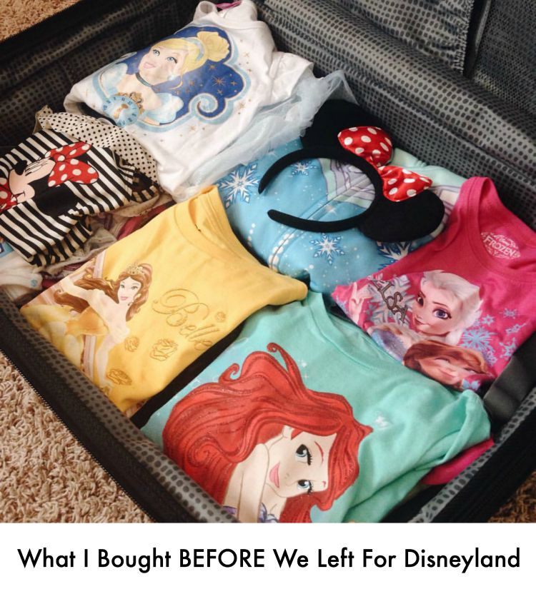 What I Bought Before We Left For Disneyland